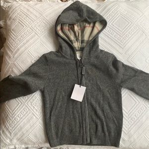 New Burberry  cashmere 18 month old sweater